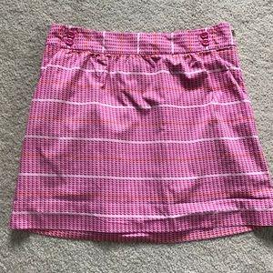 Vineyard Vines whale stripe skirt